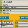 The Juerga's Rock Festival 2015 – Horarios